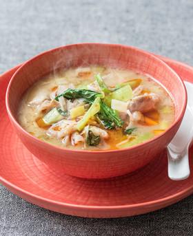 糀甘酒の坦々スープ