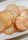 簡単!カレー塩で食べる 里芋チップス