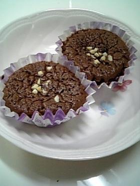プチチョコ♥カップケーキ
