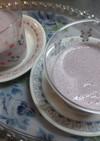 アイスとジャムでふわふわヨーグルトムース