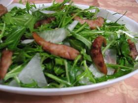 かぶと水菜のしゃきしゃきサラダ
