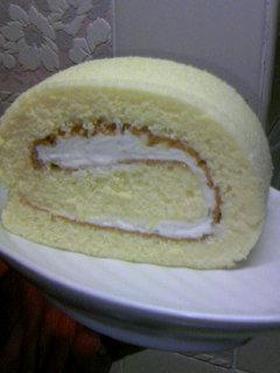 簡単ふんわりロールケーキ