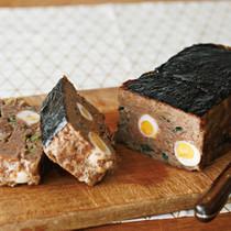 うずら卵の磯部ミートローフ