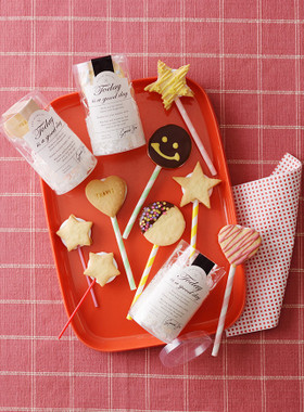 マシュマロでロリポップクッキー By ダイソー クックパッド 簡単