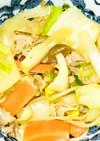 簡単シャンタン野菜炒め