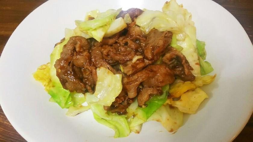 簡単!豚肉とキャベツの本格ホイコーロ!