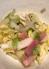 シャキシャキ白菜とベーコンのサラダ