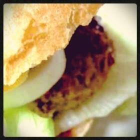 ハンバーガーのソース♪