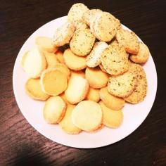 アレンジがきくサクサクシュガークッキー