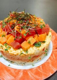 簡単✤ちらし寿司ケーキ 子供の日❦誕生日