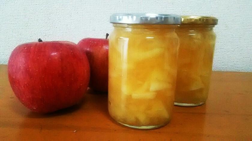林檎の美味しい季節に◎林檎ジャム。