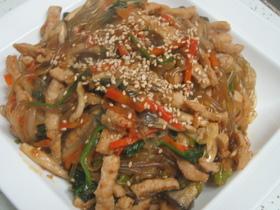 韓国家庭料理・チャプチェ