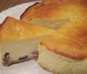 ラム酒たっぷり♪大人のチーズケーキ