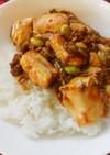 クックドゥで一人分の麻婆豆腐丼♪