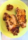焼豚肉〜カレーケチャップソースを添えて〜