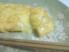 とろ~りチーズの卵焼き。・゚・
