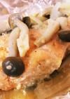 簡単ホイル焼き☆鮭のごま味噌マヨネーズ