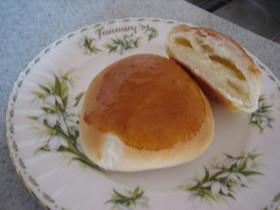 ~。:*ミルククリームパン*:。~