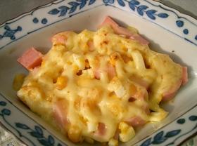 おさかなのソーセージのチーズ焼き