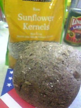 アメリカンな雑穀パン