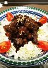 キャベツ牛丼(サラダとも言う)