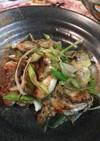 栄養たっぷり牡蠣と深谷ねぎのソテー