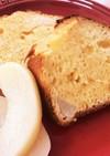 簡単HMを使った桃のパウンドケーキ!