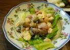 簡単☆豆と卵のサラダ