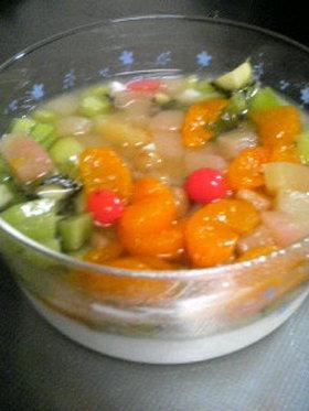 我が家の杏仁豆腐