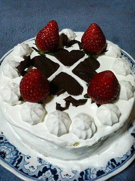 簡単美味しいば―すでいケーキ