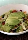 アボカドキウイのダイエットサラダ