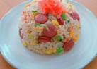 ⭐チャーハン味の炊き込みご飯⭐炊飯器で