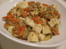 白菜たっぷり肉豆腐