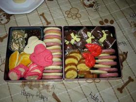 お菓子でおせち2008