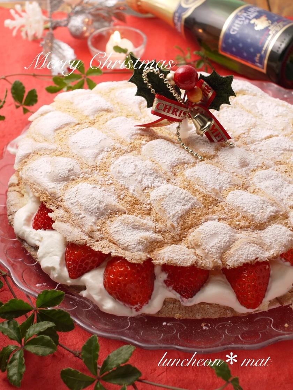 型不要*パンビー*簡単クリスマスケーキ