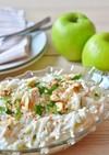 トルコの家庭料理☆鶏肉と根セロリのサラダ