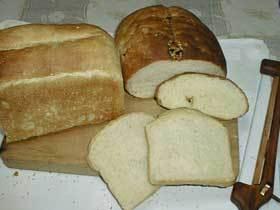 はちみつとなたね油の食パン