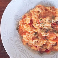 ツナとトマトで!簡単時短トマトリゾット