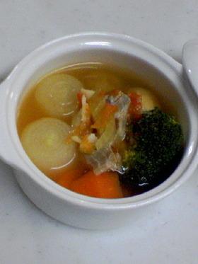 鱈と野菜のシチュー