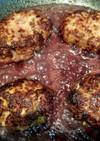 ガッツリ!肉肉しいハンバーグ◎
