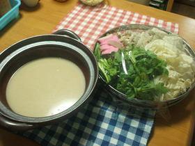 ごま豆乳鍋