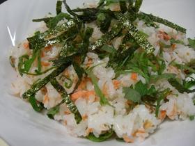 簡単♪シンプル鮭寿司