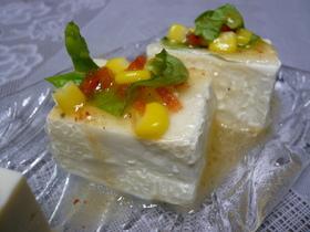 キラキラ☆ イタリアン豆腐