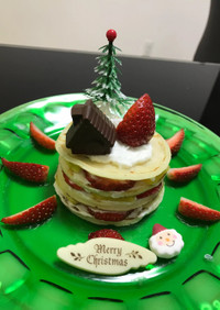 赤ちゃんも食べられるクリスマスケーキ