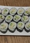 残り物 ターキーで巻き寿司