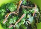 ブロッコリーとひじき、人参の三色サラダ