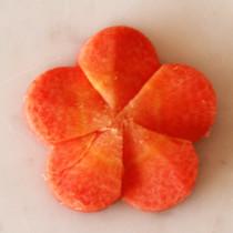 花にんじん(飾り切り)