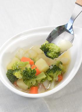【もうすぐ幼児食】野菜たっぷりポトフ