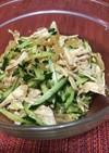 クラゲとキュウリと蒸し鶏のサラダ・2