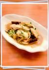 簡単!牡蠣と三つ葉のバター炒め